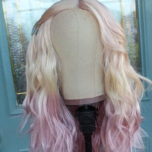 Accessories - New [Custom Dyed] Wavy ombre lace part wig